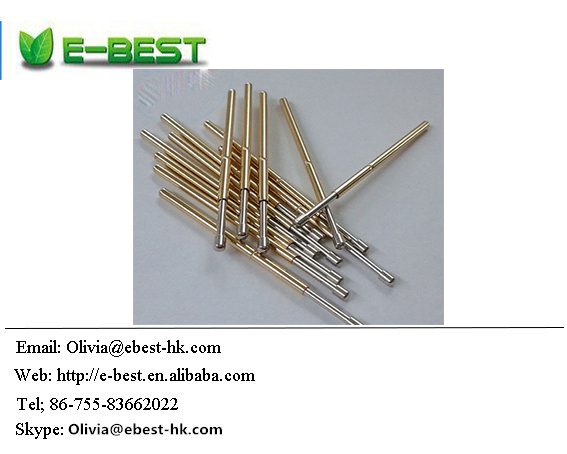 P100-D2 Dia 1.5mm Spring Test Probes Pogo Pin Length 33.35mm