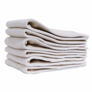 Organic Baby Cloth Diaper Hemp Cotton Bamboo Charcoal Inserts For Baby Cloth Diaper Nappies