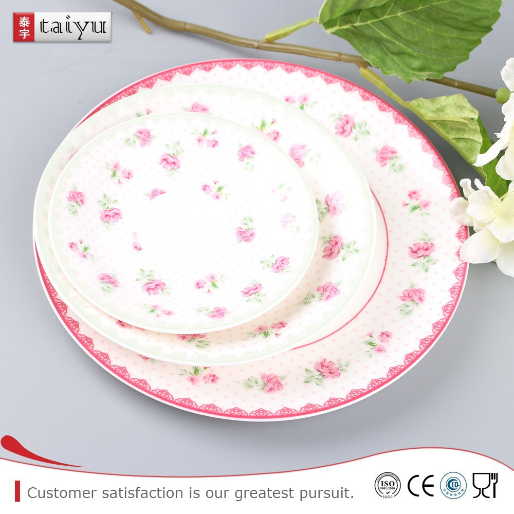 Low power consumptionoval plate serving dish soy sauce dish