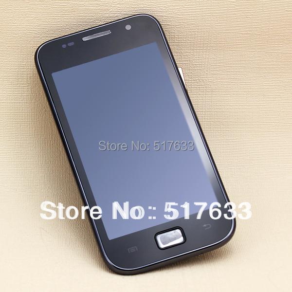 Жк-экран с сенсорным экраном планшета + рамной конструкции для Samsung Galaxy SL i9003 черный, Бесплатная доставка