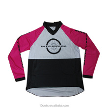 Custom Made Outdoor fietsen MX jerseys fiets downhill mtb