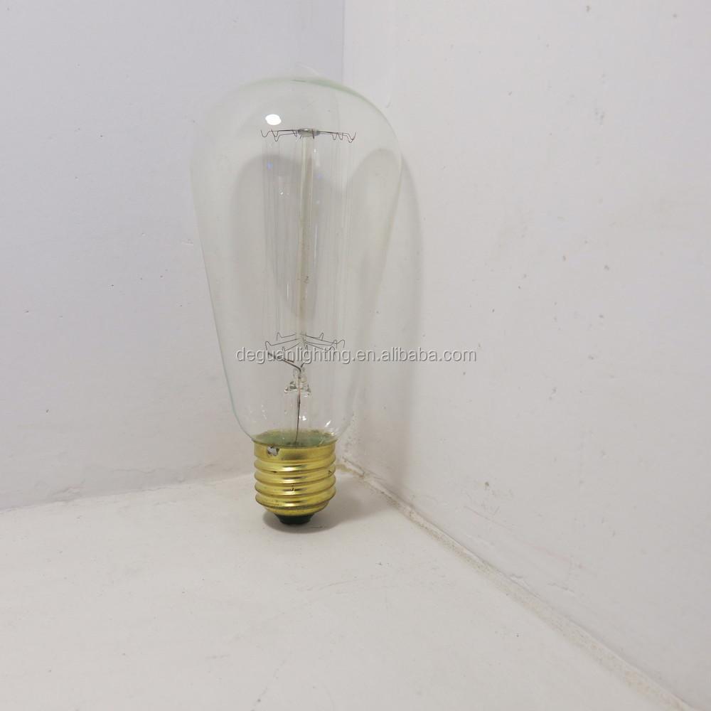 Vintage Antique Edison Bulbs St64 E26/e27 Filament Long Life ...