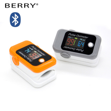 four direction OLED Fingertip Blood Testing Equipments pulse oximeter