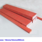 Cutting Stick Red Color Cutting Stick For Printing Machine With Holes 14x14x550mm