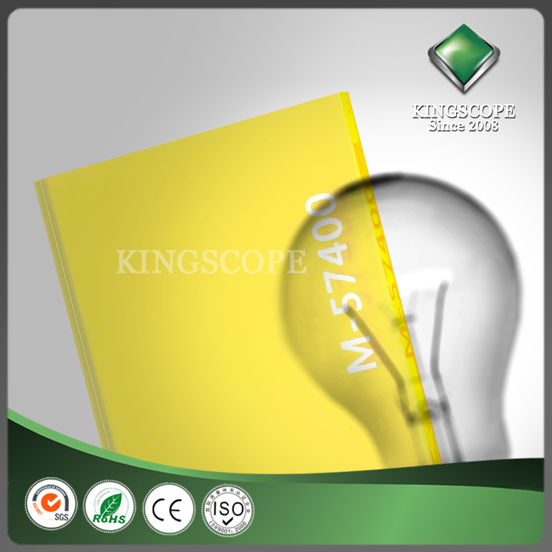 KINGSCOPE 0.2mm pmma acrylic sheets of pmma acrylic resin for pmma dental block price