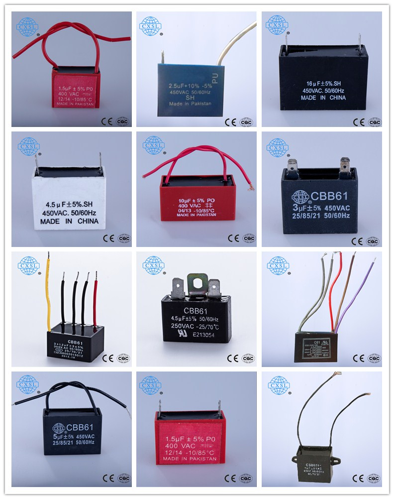 Ceiling Fan Wiring Diagram Capacitor Cbb61 Motor Starting Capacitor Id 10080072   Buy China