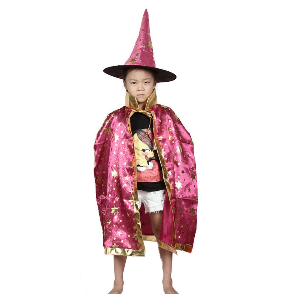 Halloween Cloak/children's clothing/Magician cloak/Child witch/Cloak cloak cap-H