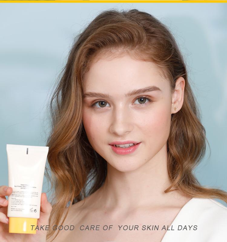 OEM/ODM organic sun block sunscreen cream spf 30