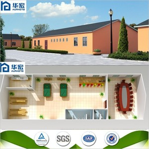 Good quality strong structure modern prefab club house