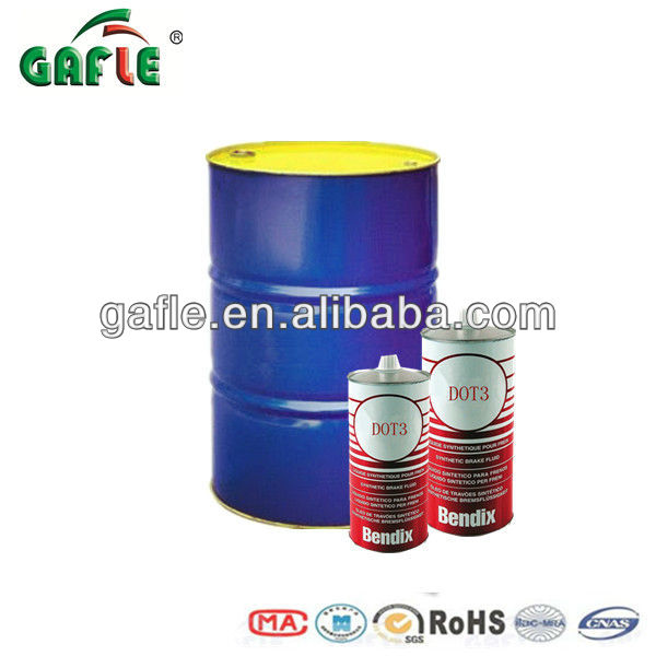 55 Gallons Brake oil DOT-3 Packed in steel drums