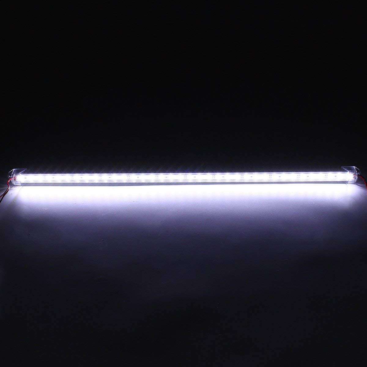 50CM 8520SMD Waterproof 36 LED Rigid Strip Light Cabinet Camping Boat Lamp for Home Decor DC12V - (Color: Pure White)