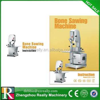 bone cutting saw machine