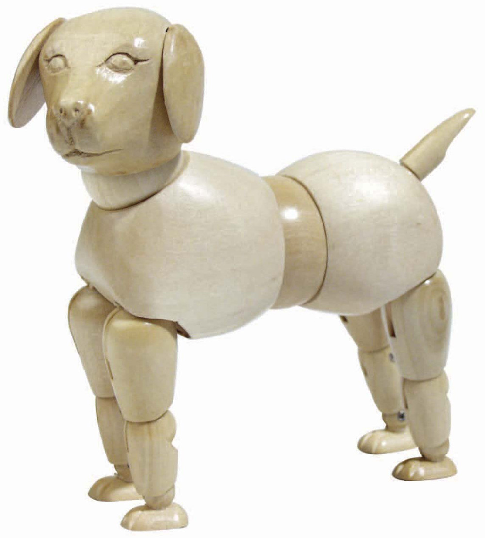 Wholesale wooden craft wooden arts crafts dog model for for Wooden craft supplies wholesale