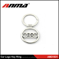 Promotional Car Logo Metal Alloy KeyChain Key Ring