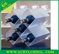 Wholesale High Quality Plastic Wine Glass Rack, Acrylic Wine Glass Holder, Wine Bottle Glass Holder