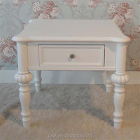 WH-4131 Small Wood Coffee Table With Drawers