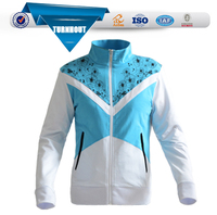 TOP quality high school uniform design shape customize unisex sports zip up hoodies jacket