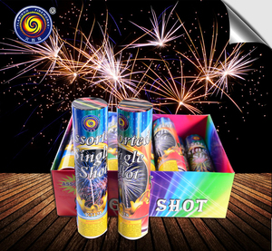 SINGLE SHOT cake FIREWORKS
