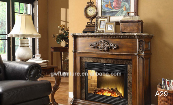 Cheap Frame In Wood Electric Fireplace A29 - Buy Fireplace