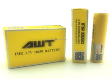 AWT 18650 battery 2600mAh 40A li-ion battery for uwheel hoverboard