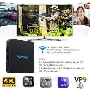 Wholesale Factory Price Quad Core Rk3328 HD Media Box Stb Q28 Tv Box 4K