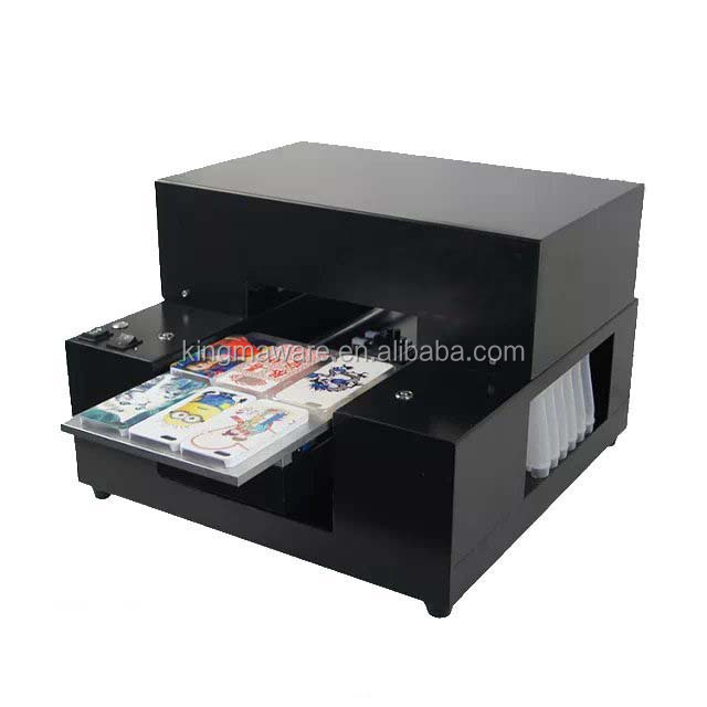 A4 Small size uv led flatbed <strong>printer</strong> for iphone case_mobile phone case, print four cases at one time