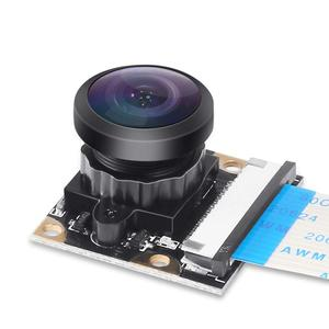 Factory Outlets Camera Webcam Fisheye Wide Angle 222 Degree FoV 5MP 1080p OV5647 Night Vision Camera Module for Raspberry Pi