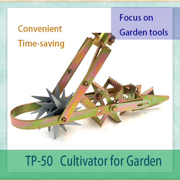 Garden Hand Tools Of Simple Structure,long Handle Manual Hand Rotary Garden  Cultivator For Weed