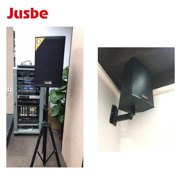 Jusbe XL-F10 มัลติมีเดียลำโพงลำโพง 10 นิ้วเพลงพื้นหลังระบบ