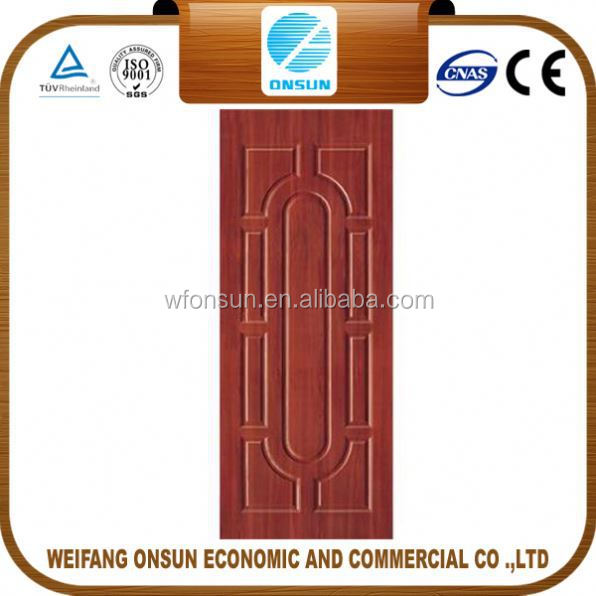 cheap high quality hdf door skin best selection for engineer door in sale