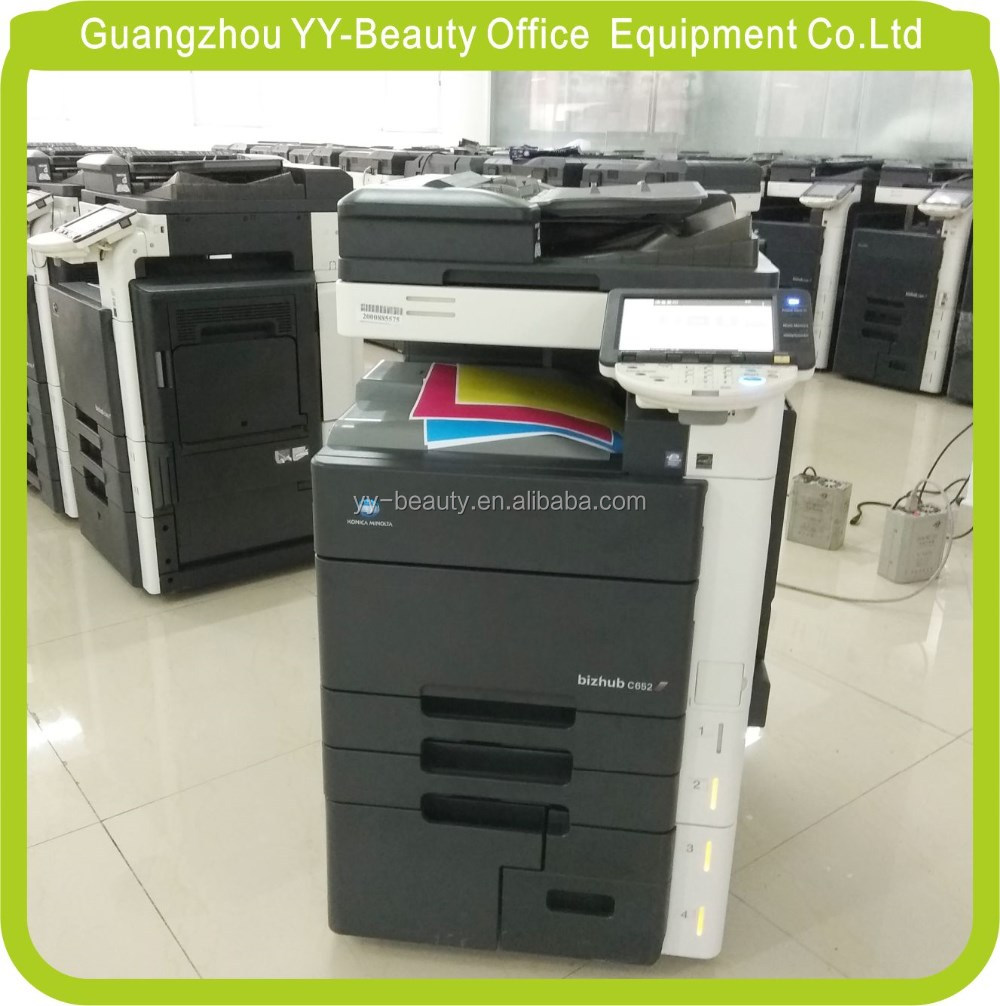 Good Quality Laser Digital Reconditioned Used Photocopiers Printers For Konica Minolta Bizhub C652 C552 C452 Used Machine