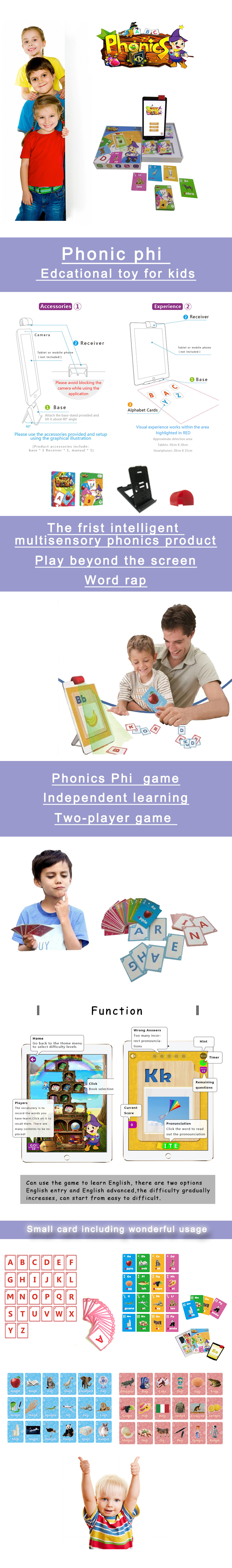 2019 hot selling Phonics and Puzzle Alphabet Letter educational wooden alphabet puzzle toy