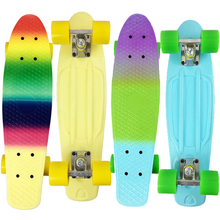 wholesale mini single-sided printing skateboard cruiser longboard