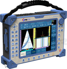 Phased array ultrasound equipamento detector de falha