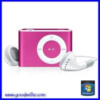 wholesale LCD Screen clip mp3 music player with SD/TF card slot