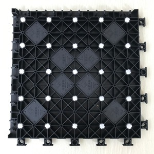 Indoor Lightweight Sport PP Click Tile Flooring