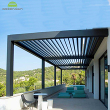 Aluminium Modern Pergola, Aluminium Modern Pergola Suppliers and ...