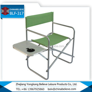 Lightweight Portable Folding Aluminium Director Chair For Leisure