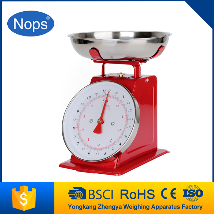 5kg durable antique stainless steel kitchen scale