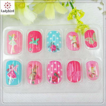 Ladybird 2018 Kunstmatige Vingernagels FAKE Nail tips/fashion nail art <span class=keywords><strong>accessoires</strong></span> baby nep nagels