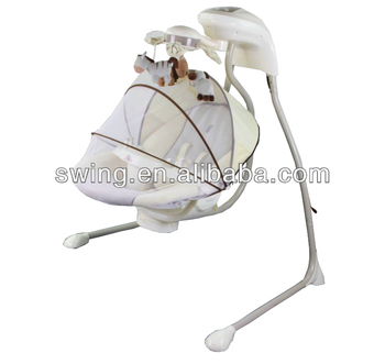 Medium image of hanging automatic electric baby hammock cradle