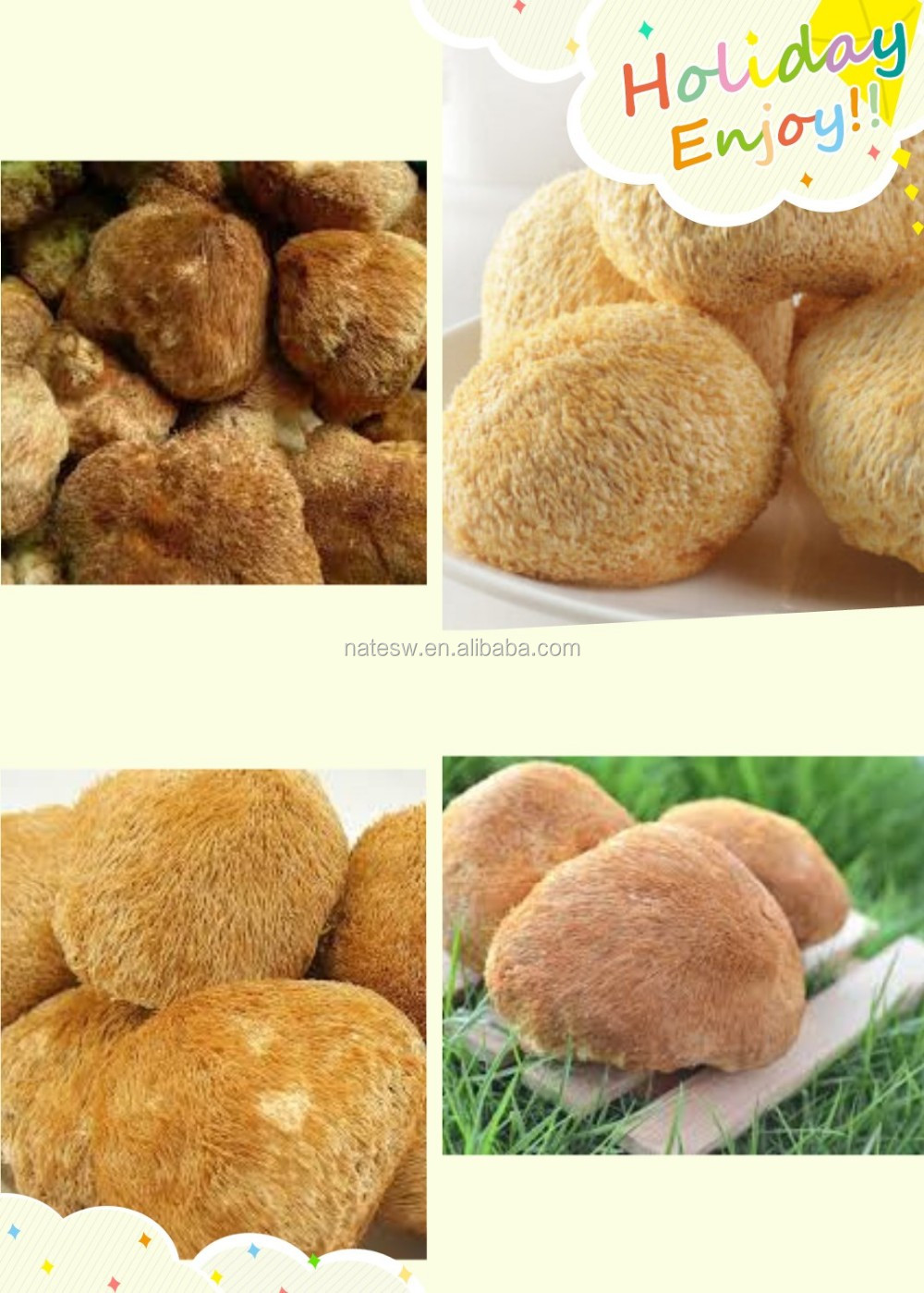 Anti-Cancer herb extract Lion's Mane Mushroom or Hericium Erinaceus Extract Polysaccharide 30% 50% Fruiting body