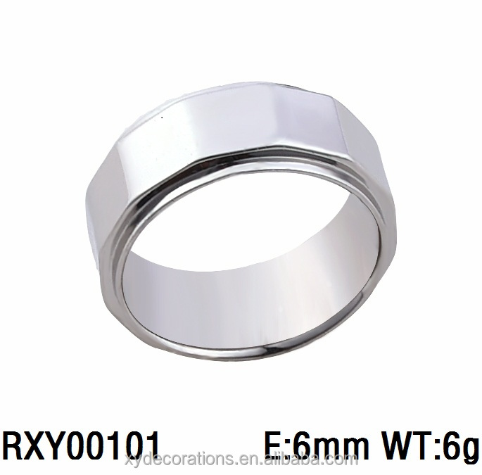 RXY00101 hot new men and women fashion factory price hot sell steel ring jewelry