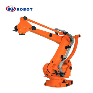 Industrial robot arm automatic stacking robot for carton pallet