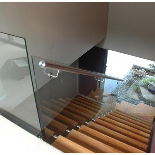 China Manufacturer Balcony Glass Mount Top Handrail Bracket Flexible