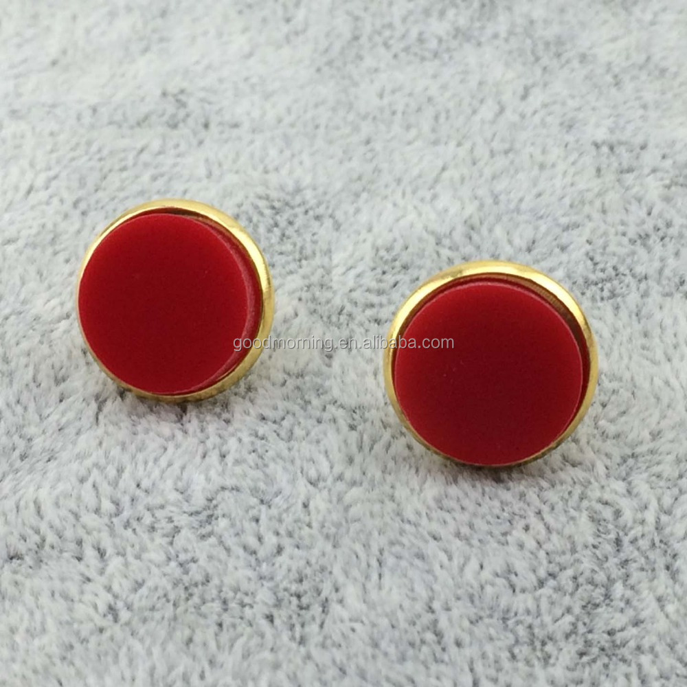 Monogram Blank Acrylic Stud Earrings Supplieranufacturers At Alibaba