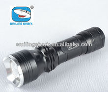Latest style zoomable led flashlight, rechargeable T6 zoomable led flashlight , strong light flashlight