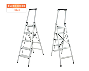 domestic mobile aluminium retractable ladder