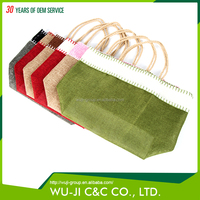 Factory direct sales all kinds of eco-friendly canvas tote bag rope handle