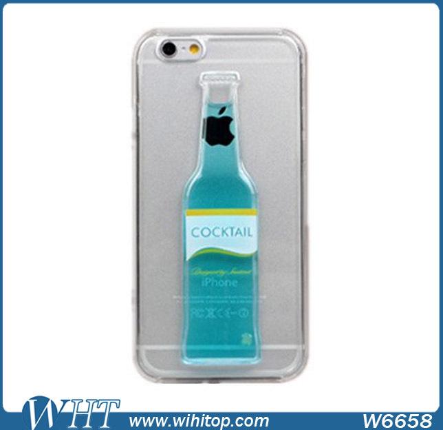 3d Liquid Case For Iphone 6,Unique Alcohol Bottle Wine Cup ...